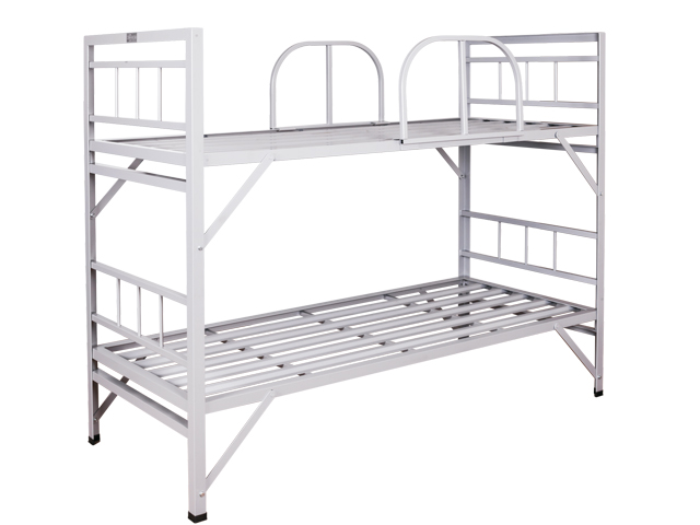 Double Military Type Metal Bunk